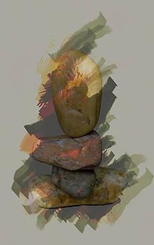 Balancing stones by John Stuart Webbstock