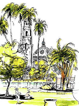 Balboa Park San Diego 4 by Terry Banderas