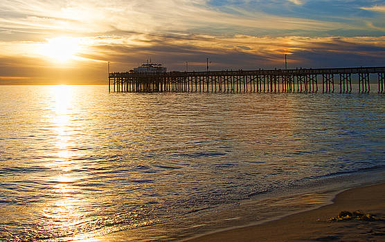 Balboa Pier Gold by Chris Brannen