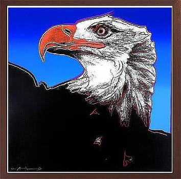 Bald Eagle from Endangered Species Suite  by Andy Warhol