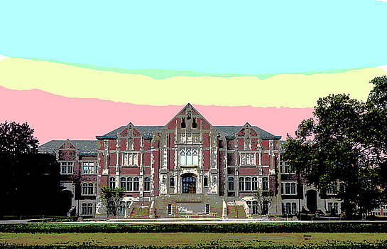 Ball State University by Charles Shoup