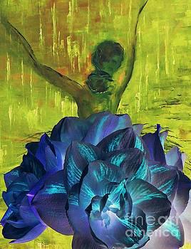 Ballerina Illusion by AmaS Art