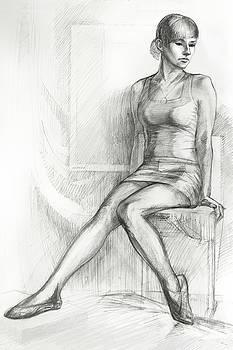 Ballerina by Natoly Art