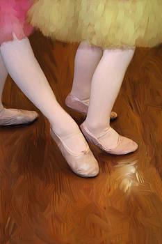 Ballet Girls by Jeannie Burleson