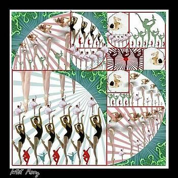 Ballet  #art #painting #design by Eman Allam