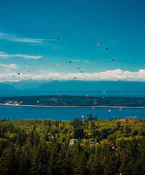 Balloon Release by Danielle Silveira