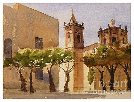 Balzan main square Malta by Godwin Cassar