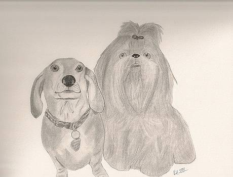 Bama and Gracie by Kristen Hurley