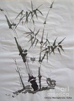 Bamboo Grove 4 by Anna Folkartanna Maciejewska-Dyba