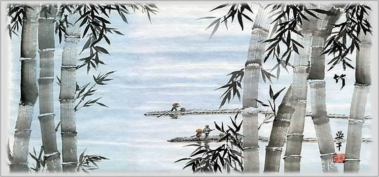 Bamboo Village by Ping Yan