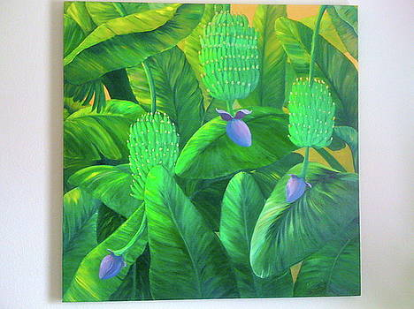 Banana Forest by Patti Lane