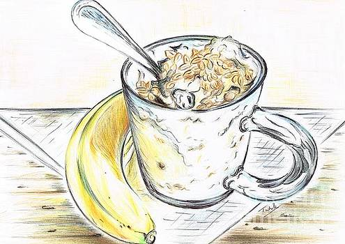 Banana- Muselli for Breakfast  by Teresa White