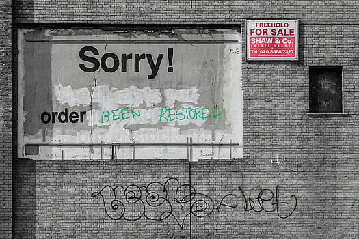 Banksy Remixed by James Evans