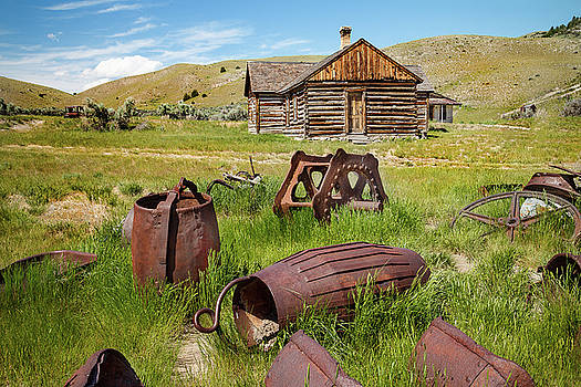 Bannack Remnants  by Steven Bateson