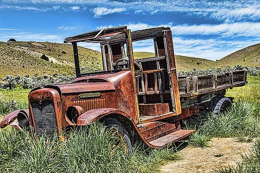 Bannack Trucking by Steven Bateson