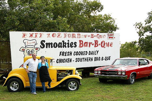 Bar-B-Que and Hot Rods by Danny Jones