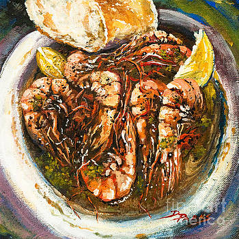 Barbequed Shrimp by Dianne Parks