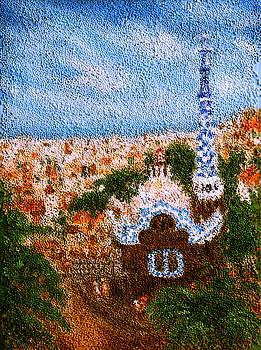 Barcelona. Park Guell  by Nina Nabokova