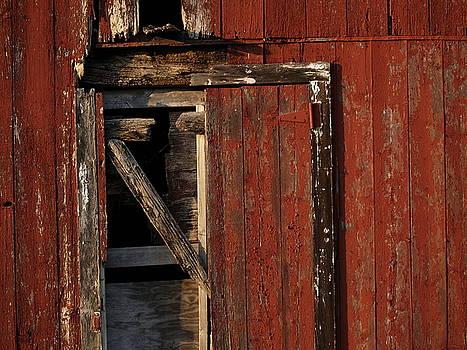 Barn Door by Valerie Morrison