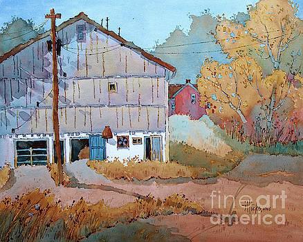 Barn Door Whimsy by Joyce Hicks