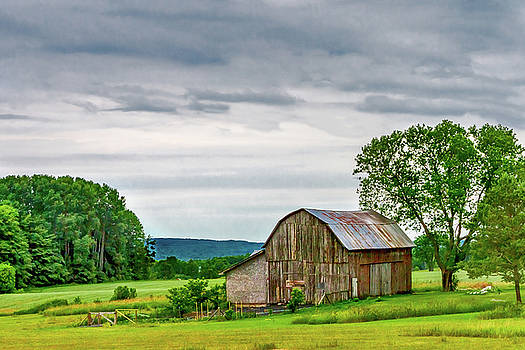 Barn in Bliss Township by Bill Gallagher