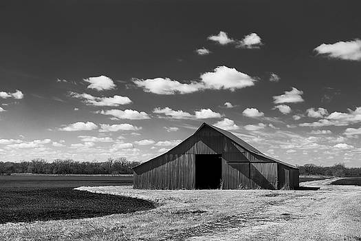Barn in Clouds by Nathan Hillis