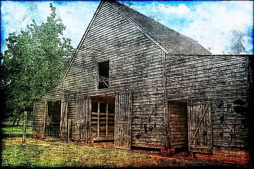 Barn by Nancie Rowan