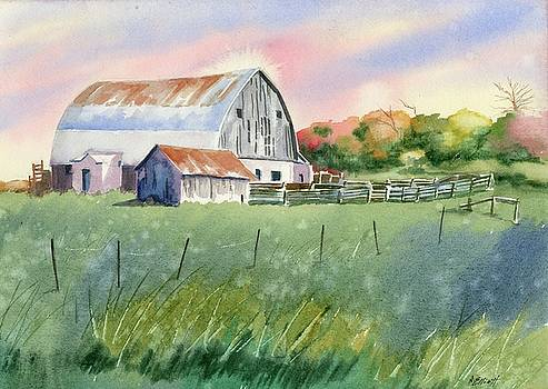 Barn on Reeves Rd by Marsha Elliott