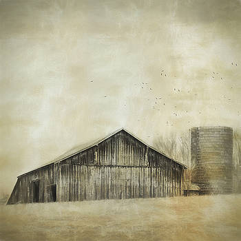 Barn On The Hill by Kathy Jennings