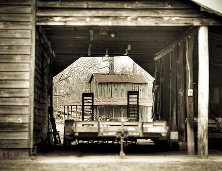 Barn Through a Barn by Andrew Crispi