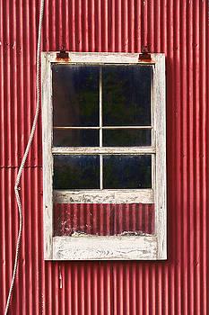 Barn Window and Rope by Robert FERD Frank