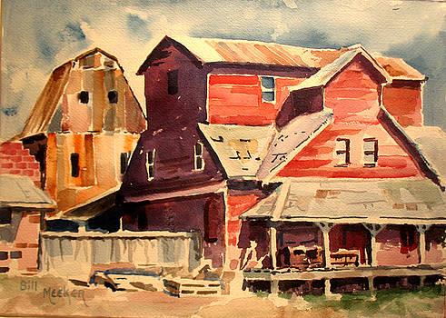 Barns Of Chetopa -1 by Bill Meeker