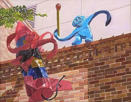 Barrel of Fun by Lynne Reichhart