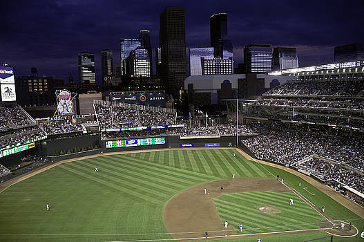 Baseball Target Field  by Paul Plaine