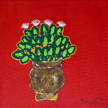 Basil In Bloom by Robyn Louisell