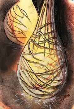 Basket Light Yellow Glow by Richard Jules