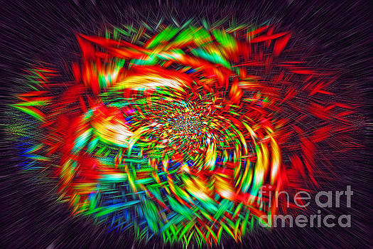 Basket of Color by Geraldine DeBoer