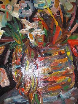 Basket of flowers by Alisa Ivanova