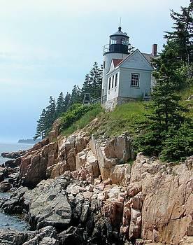 Bass Harbor Lighthouse by Belinda Dodd