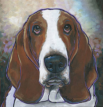 Basset Hound  Portis by Nadi Spencer