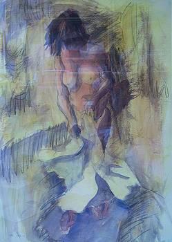 Bathing Nude 2 by Wendy Head