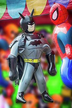 Batman Meets Spiderman by John Haldane