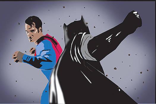 Batman vs.Superman by Michael Chatman