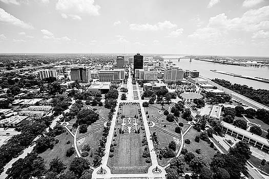 Baton Rouge from the State Capitol by Scott Pellegrin