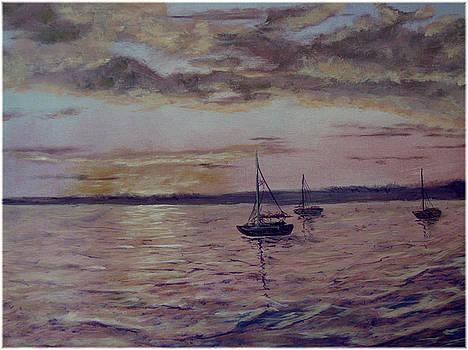 Bay at Dawn by Kenneth McGarity