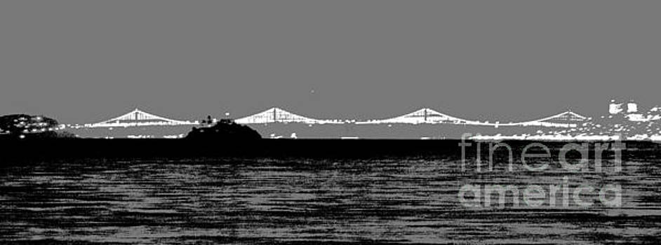 Bay Bridge San Francisco by Kip Vidrine