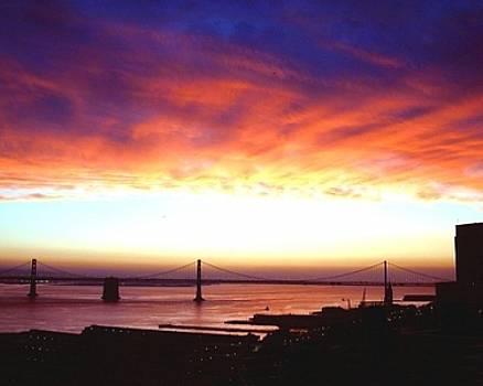 Bay Bridge Sunrise by Richard Nodine