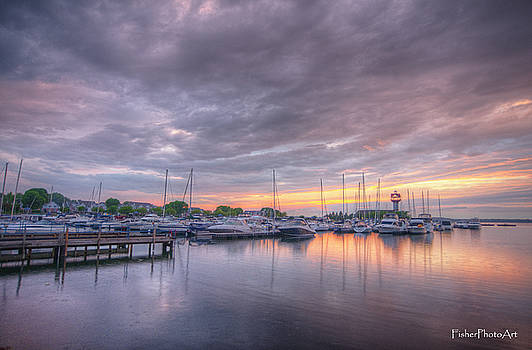 Bayfront After Sundown by Brian Fisher