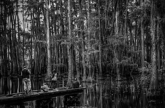 Bayou Family Fishing 2 by Ester  Rogers