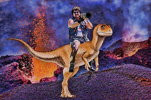 Bazooka Dino by John Haldane
